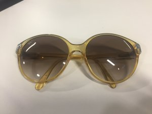 Christian Dior Butterfly Glasses dark yellow synthetic material