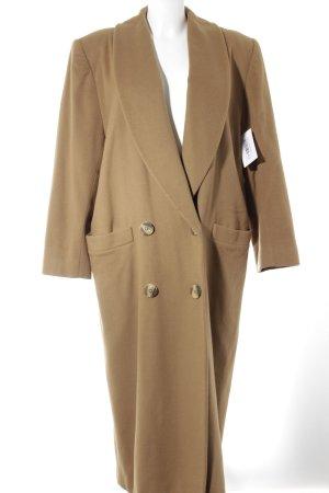 Christian Dior Manteau en laine beige style décontracté