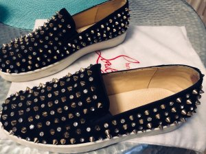 Christian Louboutin Slippers black