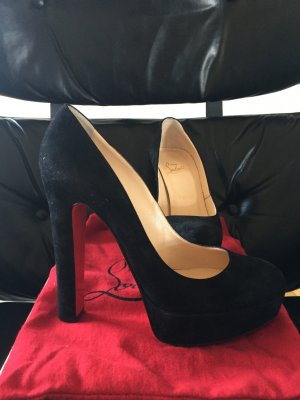 Christian Louboutin BIBI Velours Gr. 38 Pumps in Größe 38