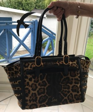 "Christian Louboutin Handtasche ""Pony-Leopard"""