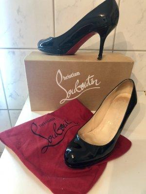 Christian Louboutin High Heels 36,5 schwarz rot