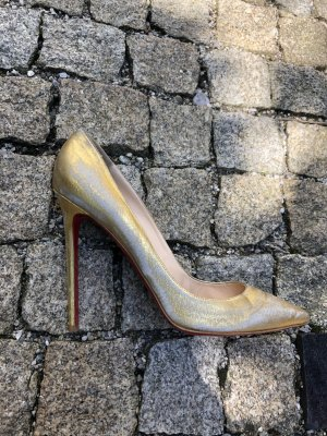 Christian Louboutin High Heels Gold!
