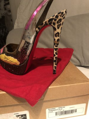 Christian Louboutin High Heels Leopard 160mm