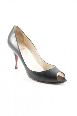 Christian Louboutin High Heels schwarz Business-Look
