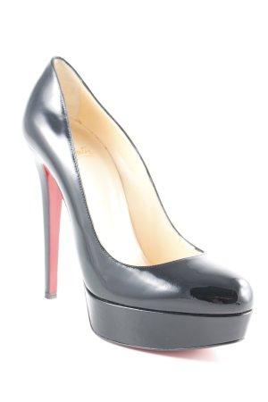 Christian Louboutin Tacco alto nero-rosso elegante 1a6de27b371