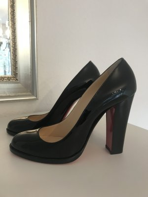 buy online 45ec7 0d793 Christian Louboutin London B 100 Patent Black Pump *neu*