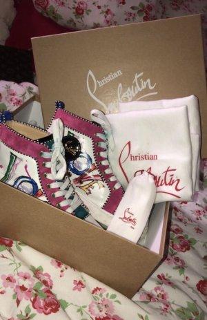 Christian Louboutin, Orlato Sneakers White/Multi, Größe 36,5 (EU)