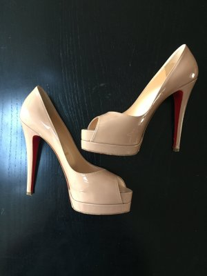 Christian Louboutin Peep-Toes in Gr. 38