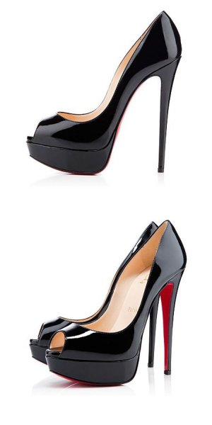 Christian Louboutin Pumps Patent leather 120