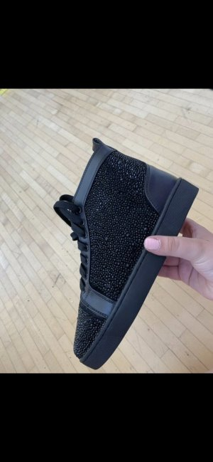 Christian Louboutin High Top Sneaker black-red