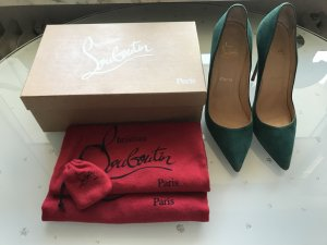 Christian Louboutin So Kate 12cm / Gr. 39,5 in grün!