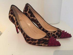 Christian Louboutin So Kate High Heels Animal Print