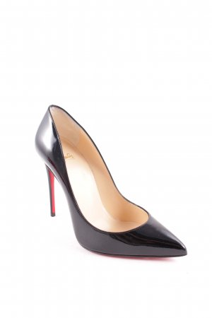 "Christian Louboutin Spitz-Pumps ""Pigalle Follies 100 Patent Pump Black """