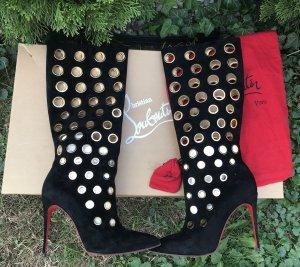 Christian Louboutin Stiefel schwarz Apollo Boot 38,5 neuwertig
