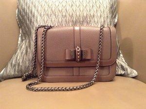 Christian Louboutin Handbag grey leather