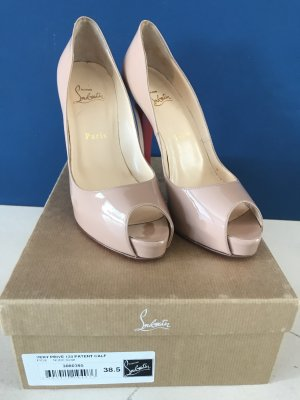 Christian Louboutin Very prive 120 Patent Calf in 38,5 NEU