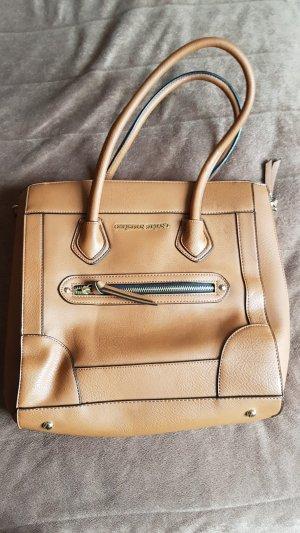 Carry Bag cognac-coloured imitation leather
