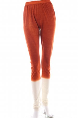 Christian Wijnants Leggins cream orange