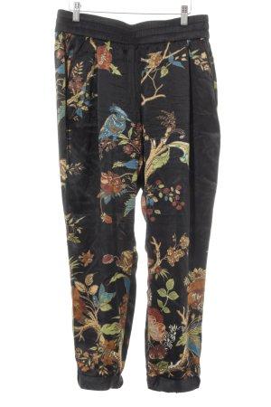 Christina Duxa Baggy Pants Allover-Druck Casual-Look