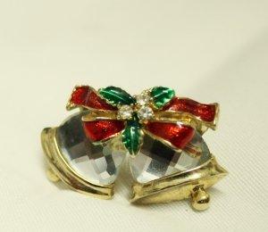 Christmas Ornament Brosche Glocken Weihnachten Xmas