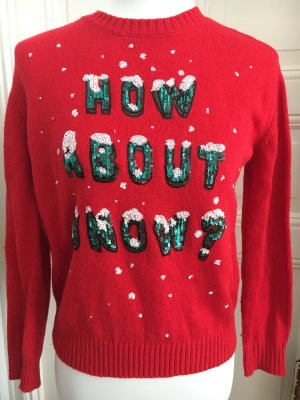 Christmas Sweater mit Pailletten
