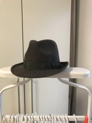 Cappello di lana grigio-grigio scuro Lana