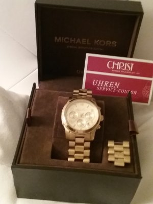 Chronograph  ITB  vergoldet  unisex Michael Kors Sonder Edition