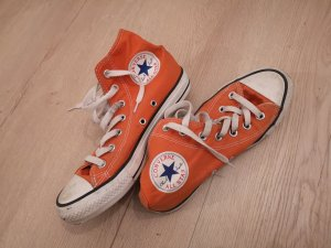 Chucks 37 orange Converse