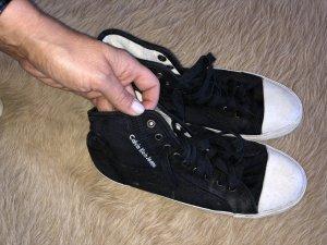 Calvin Klein Lace-Up Sneaker black