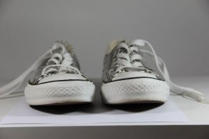 CHUCKS, CHUCK TAYLOR ALL STAR - Sneaker low - weiß schwarz gestreift, Gr. 3/ 35