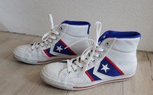 Chucks #Cons# weiss Leder Converse