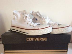 Chucks Converse weiß GRÖSSE 34