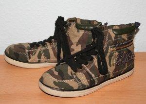 Chucks Graceland Camouflage Gr. 39 khaki schwarz