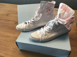 Blue Strenesse Lace-Up Sneaker pink-white