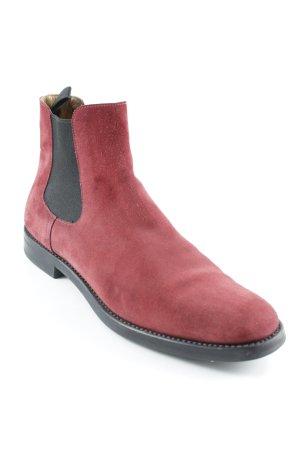 Church's Chelsea laarzen rood-zwart casual uitstraling