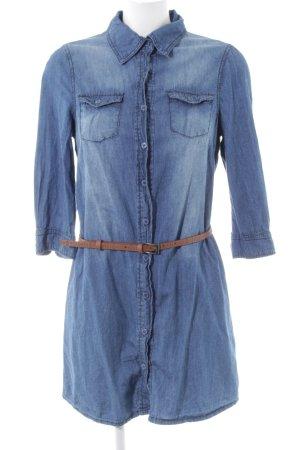 Ci Sono By Cavalini Denim Shirt blue casual look