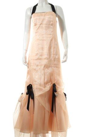 Cicci Ballkleid rosé-schwarz Romantik-Look