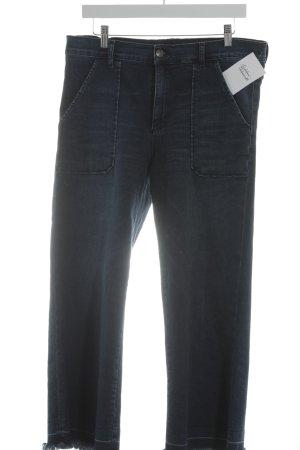 Cimarron Jeans a 3/4 blu scuro stile casual