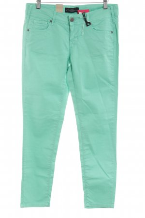 Cimarron Chinos turquoise casual look
