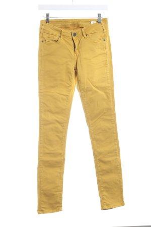 Cimarron Pantalon taille basse orange doré-jaune foncé style extravagant