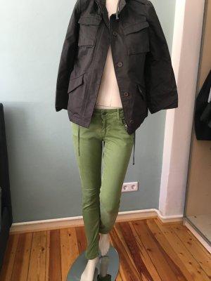 28e80d8a3c983 Cimarron Pantalon chinos vert gazon coton
