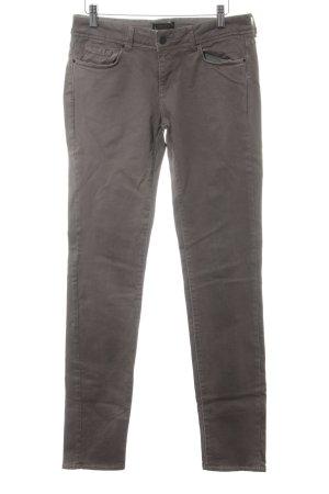 Cimarron Peg Top Trousers grey brown casual look