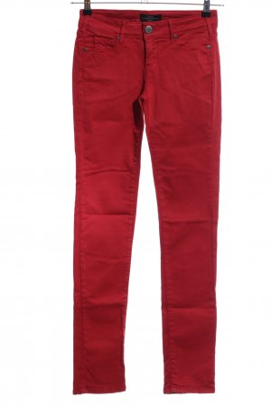 Cimarron Drainpipe Trousers red casual look