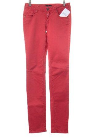 Cimarron Pantalone a sigaretta rosso chiaro stile da moda di strada