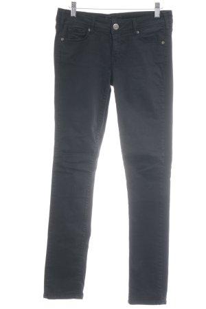 Cimarron Pantalone a sigaretta nero stile casual