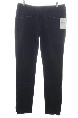 Cimarron Pantalone a sigaretta nero effetto bagnato