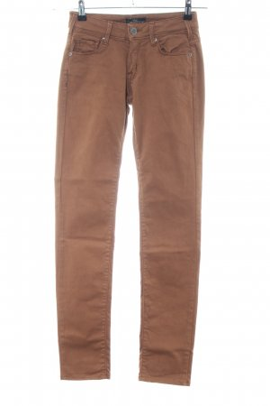 Cimarron Tube Jeans brown casual look