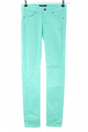 Cimarron Tube Jeans turquoise casual look