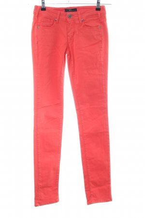 Cimarron Tube Jeans red casual look